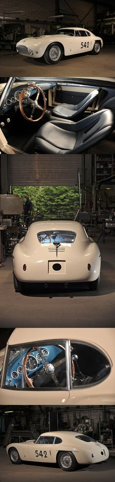 1952 SIATA 208CS Berlinetta by Stabilimenti Farina