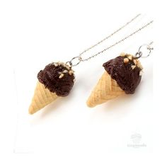 Scented Chocolate Ice-Cream Necklace