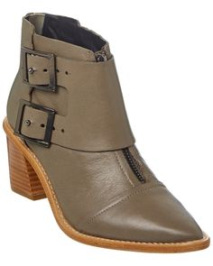 Tibi Carson Leather Bootie is on Rue. Shop it now.