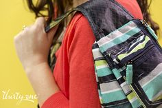 Sling-Back Bag great for the mom on the go!