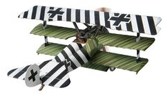 Corgi Luftstreitkrafte Fokker Triplane Dr.I Jasta 6 1918 (1:48) AA38305 WWI #Corgi