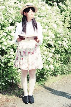 #flowers #story #summer #vintage #outfit #fashion #whimsical