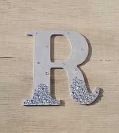Silver Semi Bling Sparkle Wall Letters Wedding by LettersFromAtoZ, $10.00
