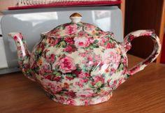 England Flower Tea Pot