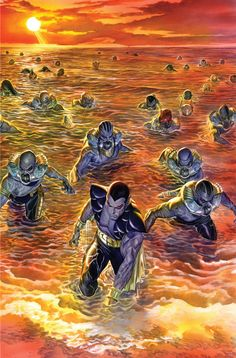 Namor: The Torch •Alex Ross