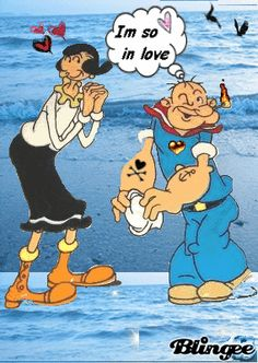 Classic Cartoon Characters, Favorite Cartoon Character, Classic Cartoons, Popeye Cartoon, Cartoon Movies, Old Cartoons, Funny Cartoons, Popeye Olive Oyl, Comic Bubble