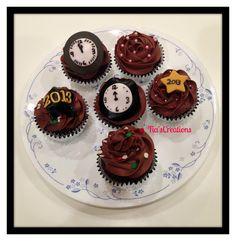 Chocolate Chip Cookie Dough Cupcakes.    TFL!