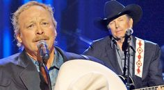 George Strait Joins Alan Jackson For 'He Stopped Loving Her Today' In Touching Tribute To The Possum