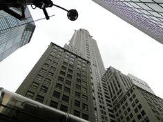 Budynek Chryslera - 320 metrowy gmach w stylu art deco, zaprojektowany przez Williama van Alena (2013)