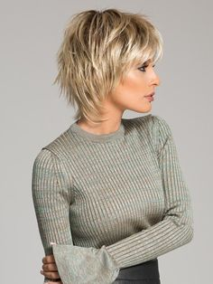 Short Layered Hair Style - 60 Classy Short Haircuts and Hairstyles for Thick Hair - The Trending Hairstyle Short Shag Hairstyles, Medium Hairstyles, Short Hairstyles For Women, Layered Hairstyles, Hairstyle Short, Pixie Haircuts, Trending Hairstyles, Layered Haircuts For Medium Hair Choppy, Layer Haircuts