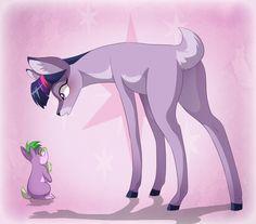 My Little Deer - Twilight Sparkle by =dennybutt on deviantART