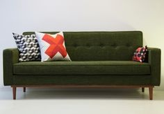 Lod sofa by Kann, design José Pascal www.kanndesign.com #vintagesofa #canapevintage #canapefifties