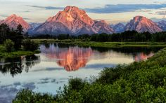 Pink at Oxbow by Jeff Clow on 500px