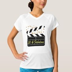 50 YR OLD MOVIE STAR T-Shirt - tap to personalize and get yours Old Movie Stars, 50 And Fabulous, Birthday Design, 50 Years Old, Old Movies, Birthday Shirts, 50th, Celebrities, Tees