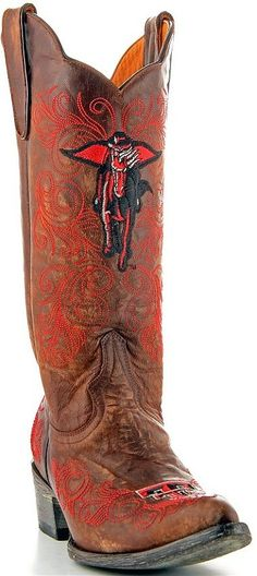 Womens Gameday Boots Texas Tech