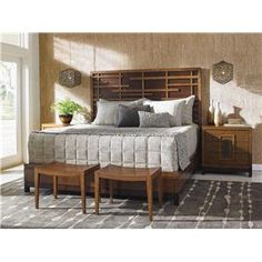 Tommy Bahama Home Island Fusion King Bedroom Group