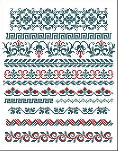 Borders cross-stitch