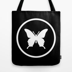 Butterfly Tote Bag by muchö - $22.00