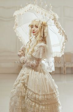 Penny House -The Snow Queen- Luxurious Lolita Jumper Dress