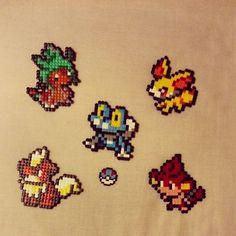 [Geeklies] Starter pokemons and others by MissBunny-Usagi.deviantart.com on @DeviantArt