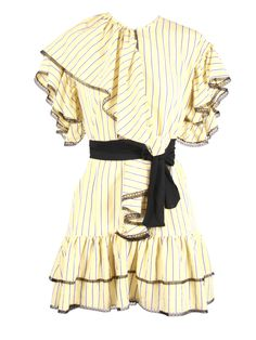 Dress Farfalle Bell Sleeves, Bell Sleeve Top, Ruffle Blouse, Tops, Dresses, Women, Fashion, Vestidos, Moda
