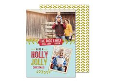 Hey, I found this really awesome Etsy listing at https://www.etsy.com/listing/209709803/holly-jolly-christmas-card-holiday-cards