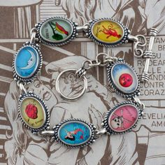Mexican Loteria Bracelet