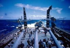 Navy heavy cruiser USS Quincy prepares to launch Vought Kingfisher floatplanes during the Invasion of Southern France, August (Official U. Naval History, Military History, Operation Dragoon, Uss Iowa, Us Battleships, Le Hangar, Heavy Cruiser, Capital Ship, Man Of War