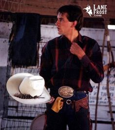 July In Cheyenne, Lane Frost, Country Boys, Country Life, Cowboy And Cowgirl, Cowboy Hats, Rodeo Rider, Professional Bull Riders, Hot Cowboys