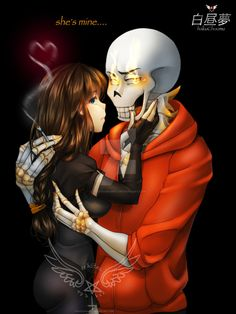 """From my side story SecuriSwap, """"hakuchuumu."""" SecuriSwap Papyrus, or """"Rev"""" as nicknamed by St.Frisk, short for """"Reverie/Revere"""" as she isn't sure if he's. Undertale Game, Anime Undertale, Frisk, Underswap Papyrus, Time Kids, Bad Timing, Chara, Yandere, Drawing Reference"""
