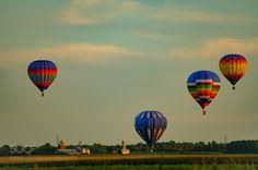 International de montgolfières de Saint-Jean-sur-R by ClaudeDesrosiers1. @go4fotos