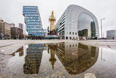 Markthal Rotterdam #markthal #Rotterdam  #reflection #puddlegram