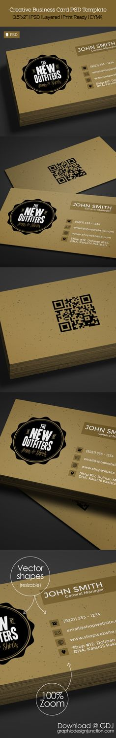 Freebie Vintage Business Card PSD Template