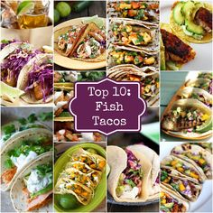 Top 10 Fish Tacos. When you celebrate Cinco de Mayo on the lake, fish just makes sense! #holidays #fishtacos #LakeMartin