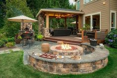 Zona barbecue. ..