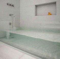 Invisible Bath Tub