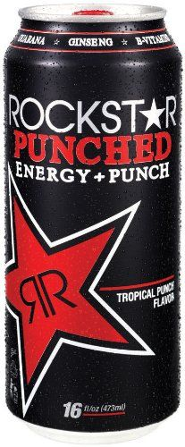 Rockstar Punch Energy Drink, 16-Ounce Cans (Pack « Blast Grocery