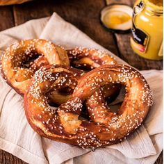 German Soft Pretzels (Laugenbrezel) . Because Oktoberfest is here and I know you are looking for a…