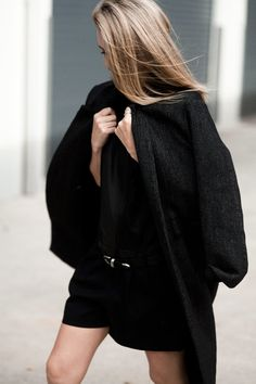 'Workshop' personal style post by Amanda Shadforth on www.oraclefox.com #tibijumpsuit #blackoutfit #philliplim