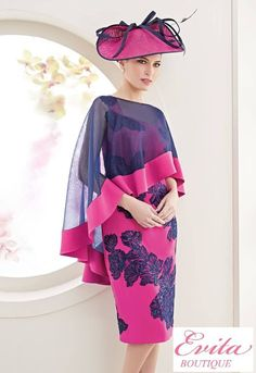 Mother of the Bride Archives - Evita Elegant Dresses, Beautiful Dresses, Nice Dresses, Short Dresses, Mother Of Groom Outfits, Mother Of The Bride, Derby Outfits, Groom Dress, African Dress
