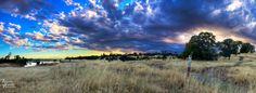 Photo of Upper Bidwell Park, Chico, CA, by Jeremy Vesely.  Taken at sunset, 6-18-13.