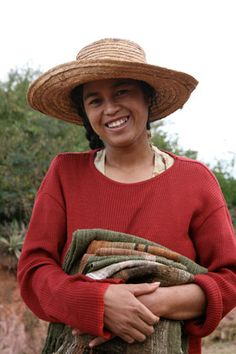 Women in remote villages of Madagascar weave beautiful, silk shawls and scarves. This project keeps an age old tradition alive in Malagasy villages, while also providing a desperately needed income to families in poverty.