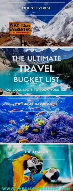 100 unique travel bucket list ideas - the ultimate list of things to do and places to see in your lifetime. Read the full guide now. See the world, embrace adventure, satisfy your wanderlust. United States I England I Australia I Canada I Travel Inspiration I Photos I Dreams I Ideas #travel #bucketlist #travelinspiration #wanderlust United States Accéder au site pour information http://storelatina.com/usa/travelling