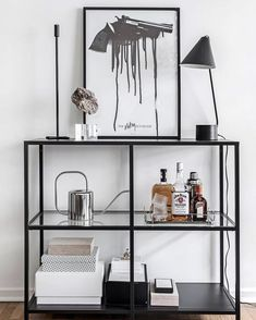 Most up-to-date Photographs Ikea & Vittsjö & # Regal - . - Most up-to-date Photographs Ikea & Vittsjö & # Regal – Decoration Popul - Home Living Room, Living Room Decor, Bedroom Decor, Ikea Bedroom, Bedroom Furniture, Ikea Vittsjo, Home Decor Accessories, Gothic Accessories, Cheap Home Decor