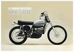 1974 Yamaha MX500