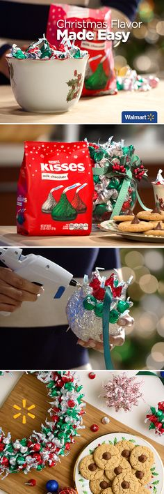 Hershey's Kisses | Walmart – Eat, Bake and Create! Treat friends and family to these festive crafts and cookies this Christmas. Find out how to make your holidays even sweeter at Walmart.