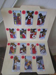 Stations of the Cross Montessori Activity for Catholic Kids