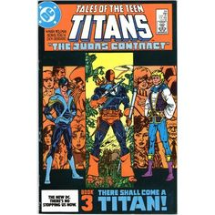 New Teen Titans #44. DC Jul 1984. 1st Appearance Nightwing. Signed Giordano.VFN