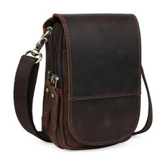 59$  Watch here - Tiding Leather Waist fanny Pack For Cell Phone Pouch Simple Case Mini Messenger Bag 3150   #magazineonlinebeautiful
