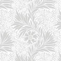 Marigold by William Morris Original from The MET Museum. Digitally enhanced by rawpixel. Floral Pattern Wallpaper, Floral Pattern Vector, Floral Patterns, Backgrounds Tumblr Pastel, William Morris Patterns, Background Patterns, Background Templates, Vintage Flowers, Vintage Patterns